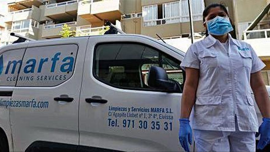 Nidia Báez: «Trabajo muy bien protegida»