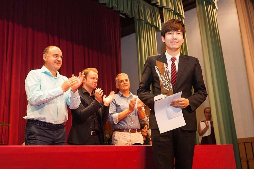 Shih-Hsien Yeh gana el concurso de piano de Sant Carles.