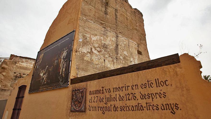 El Gobierno inyecta 2,3 millones para reconstruir la casa de Jaume I en Alzira