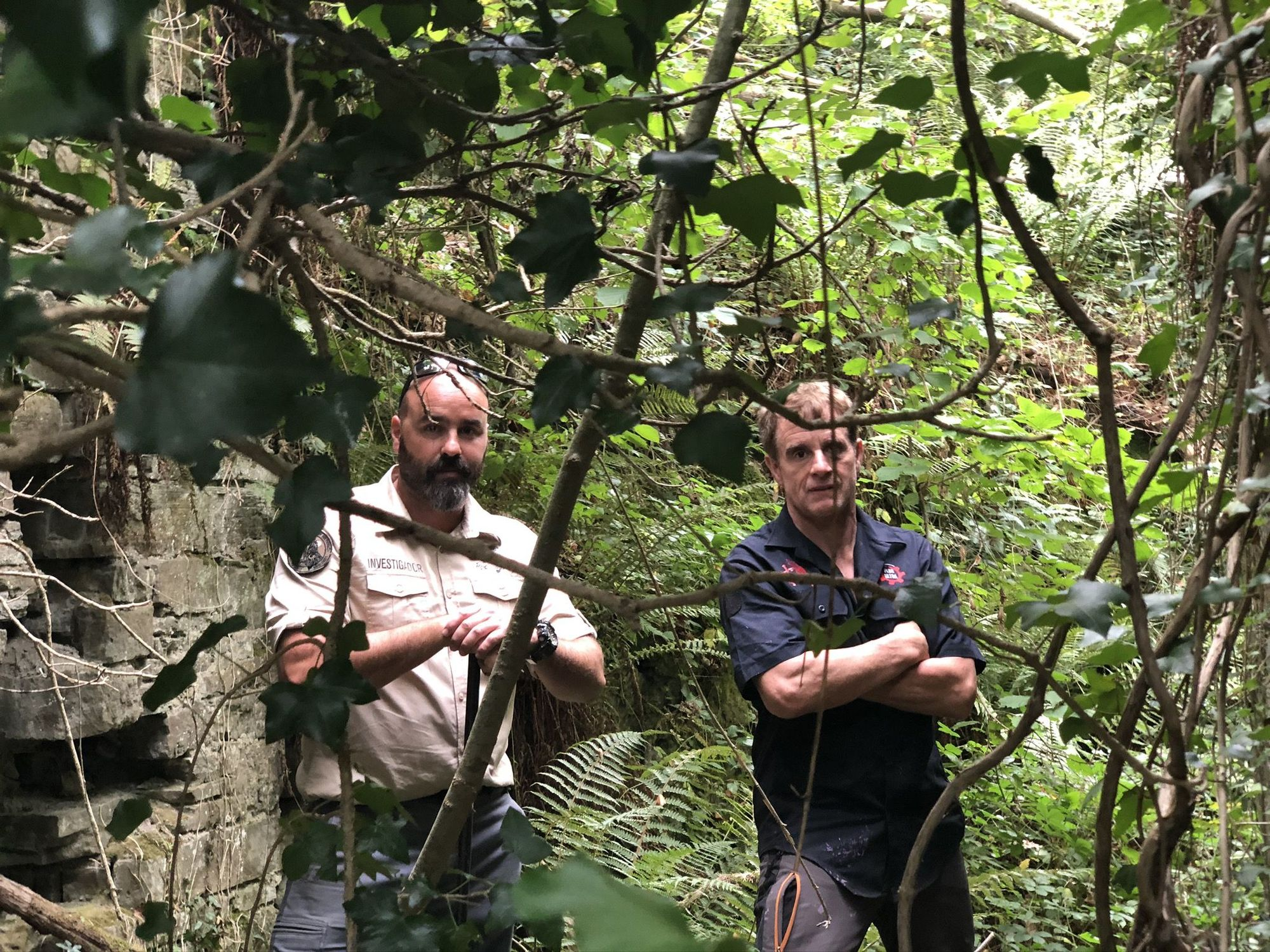 Tras una expedición, en Asturias