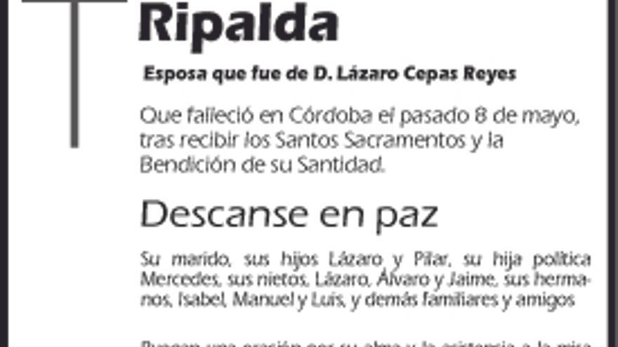 Pilar Martínez Ripalda