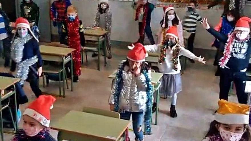 Los colegios de Benavente trasladan las típicas actuaciones de Navidad a los mensajes virtuales