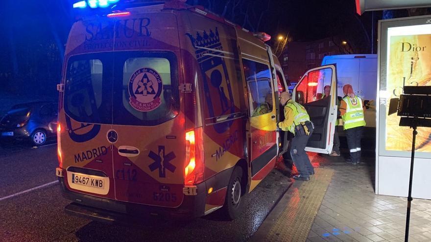 Herido grave un hombre al caerle un rayo en Madrid mientras se refugiaba de la tormenta