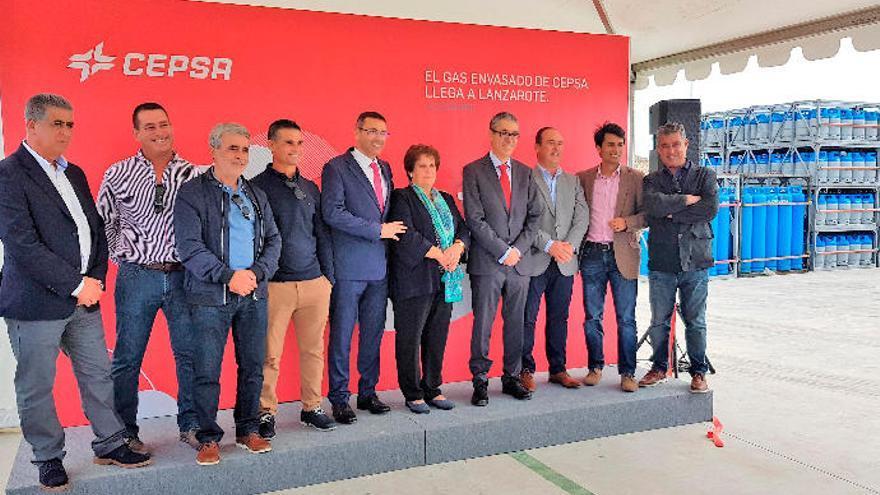 Cepsa rompe el monopolio de la distribución de botellas de butano y propano en Lanzarote