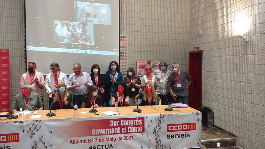 CC OO-PV elige a Cristina García como nueva secretaria de Servicios