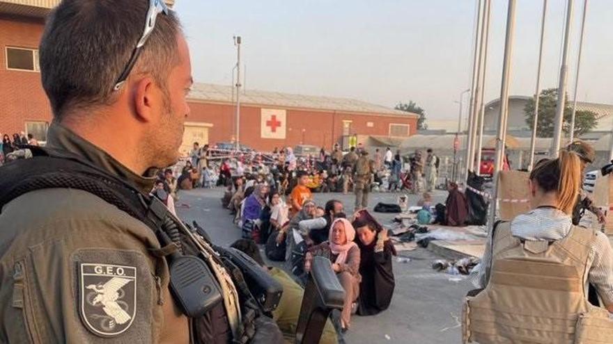 Militares españoles narran el lado más humano y terrible de la evacuación de Kabul