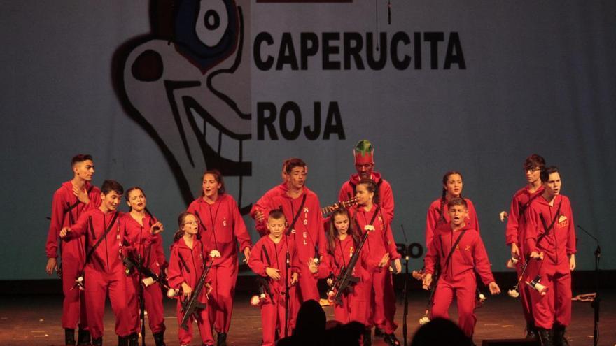 Sexta función de los preliminares del Concurso de Carnaval