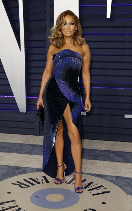 Jennifer Lopez, en la fiesta post Oscars 2019