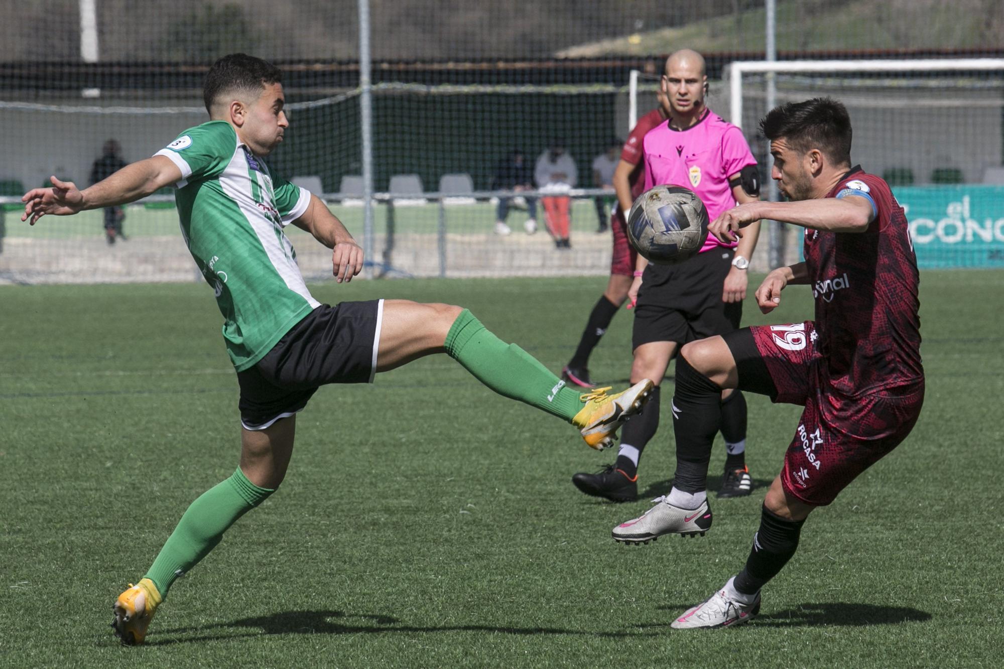 Las fotos de la jornada en Tercera División