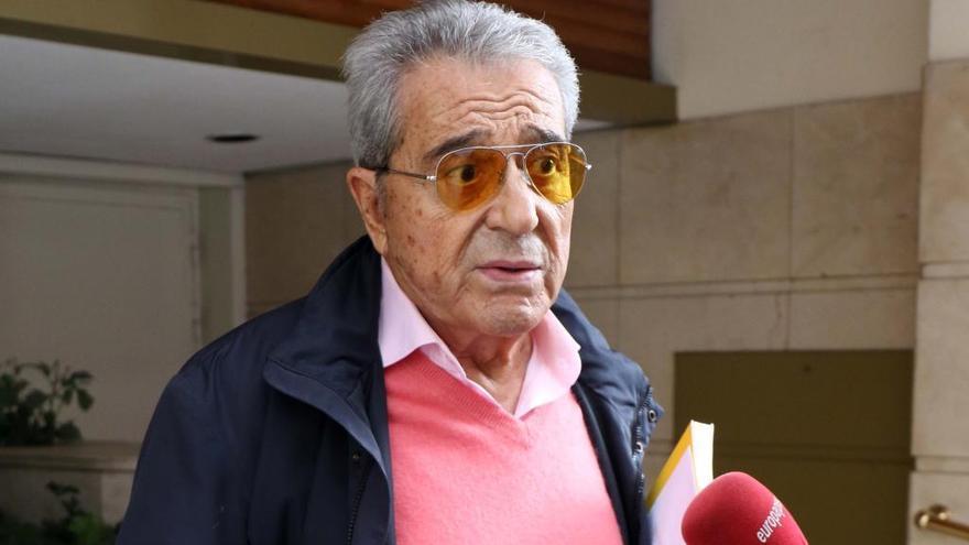 Andrés Pajares habla de su boda sorpresa, a la que no fueron sus hijos