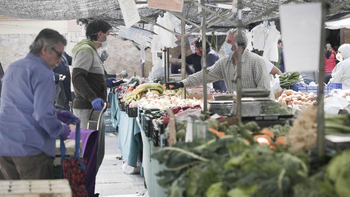 En la imagen ,el mercado de Pere Garau.