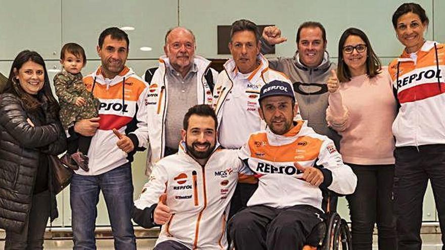 Els pilots de casa nostra presents  al Dakar van tornant cap a Catalunya