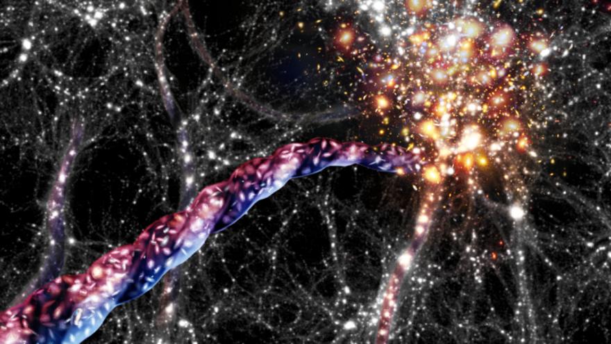 El universo también estaría rotando sobre sí mismo