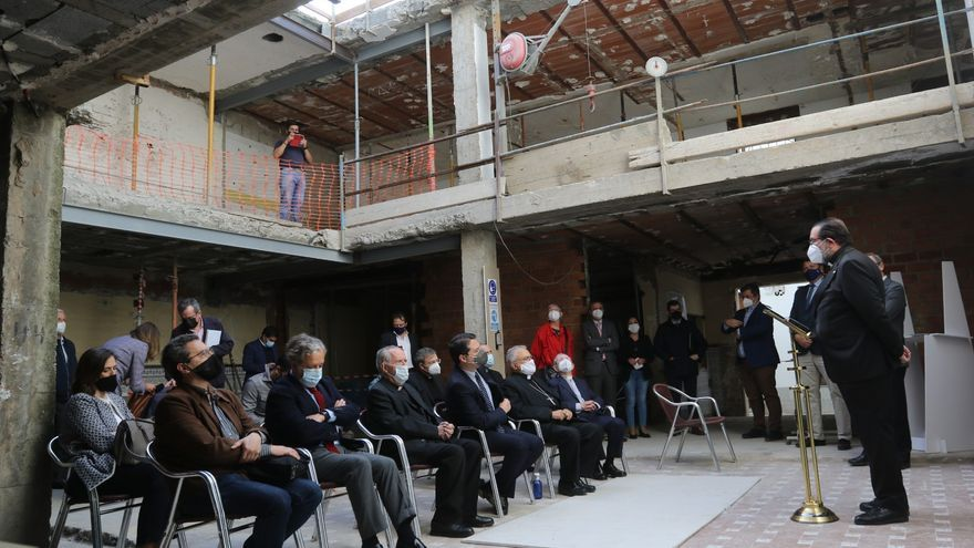 Los 18 apartamentos de alquiler social de Vimpyca en Isabel II estarán acabados para finales de año