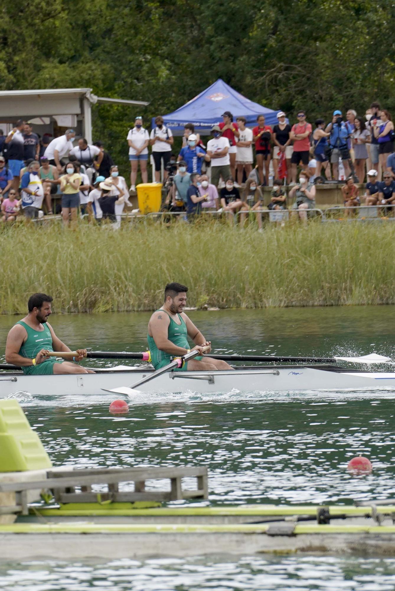 Campionat d'Espanya de rem olímpic a l'Estany de Banyoles