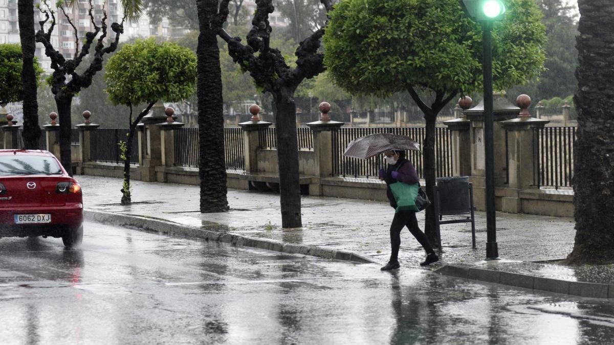Murcia y Cartagena se preparan ante el aviso amarillo por fuertes tormentas