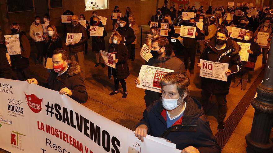 """Los hosteleros de Vigo exigen un plan de rescate """"urgente"""""""