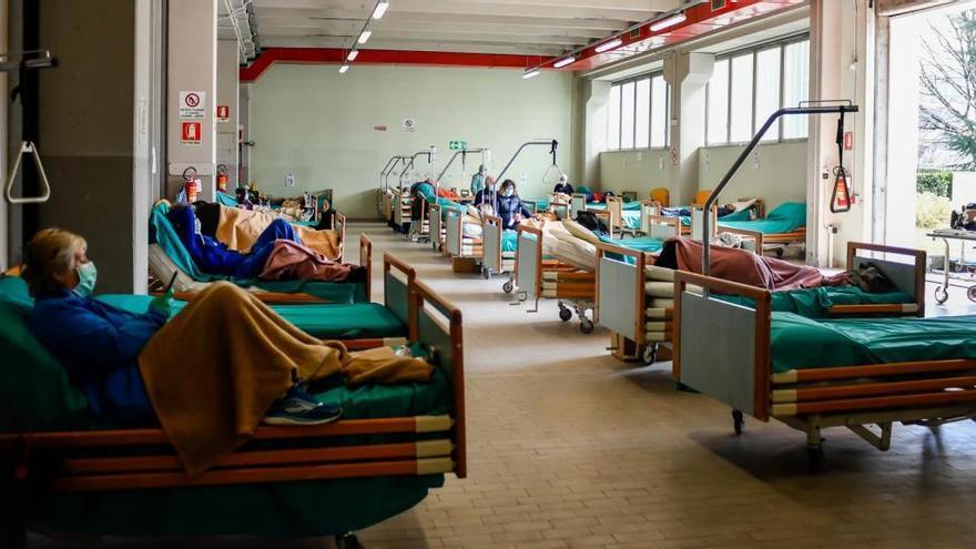 Italia rebasa la barrera de los 2,5 millones de contagios de COVID-19