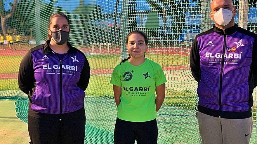Once atletas de los tres clubes de Gandia disputan el Nacional cadete