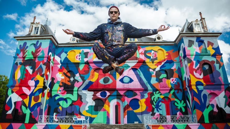 Cuatro artistas urbanos dan color a Sant Joan en La Tapia Fest