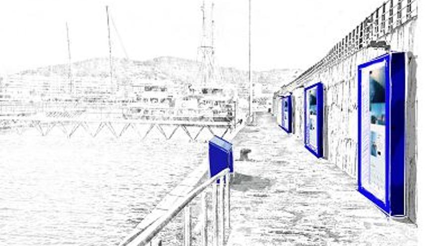 El Consell aprueba la reforma del edificio del futuro Museo del Mar de Ibiza