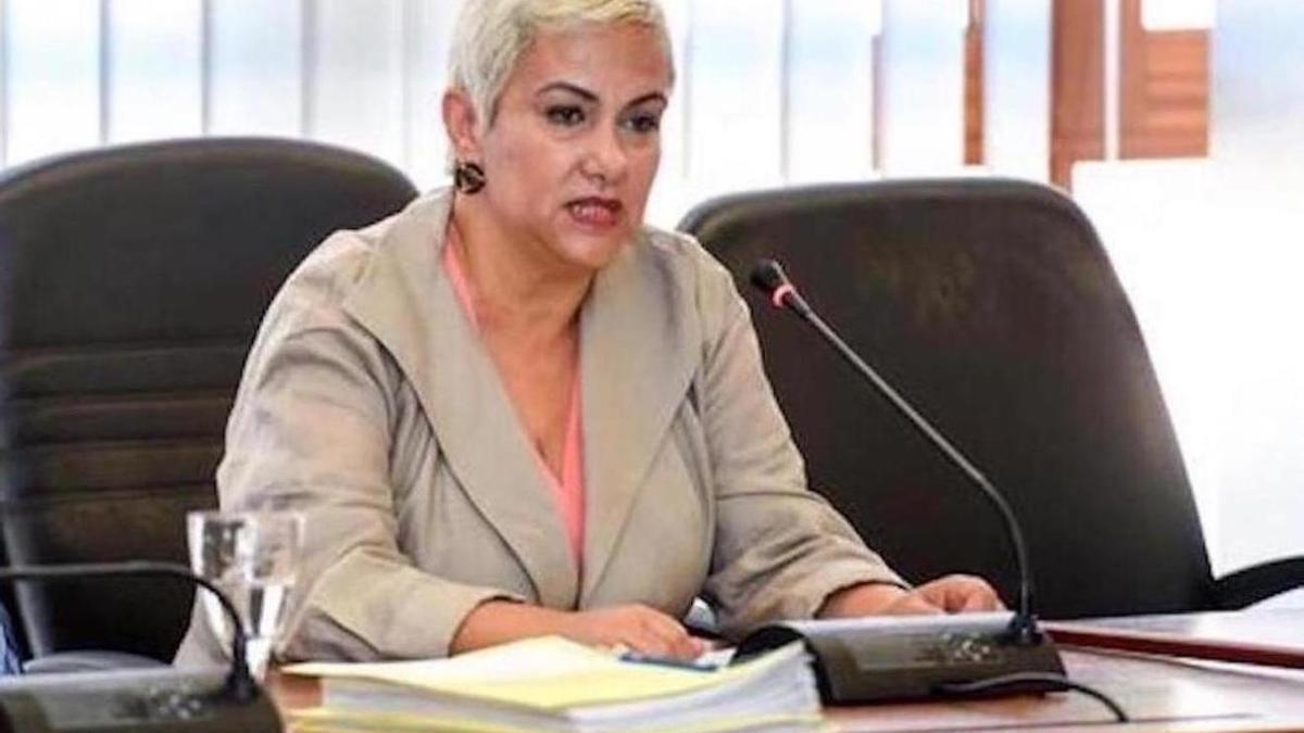 La alcaldesa de Ingenio, Ana Hernández,