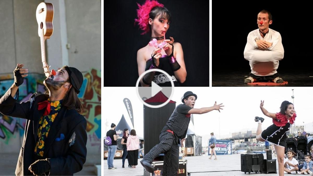 Espectáculos programados en mayo dentro del I Festival de Circo á Escena de la Sala Ártika de Vigo