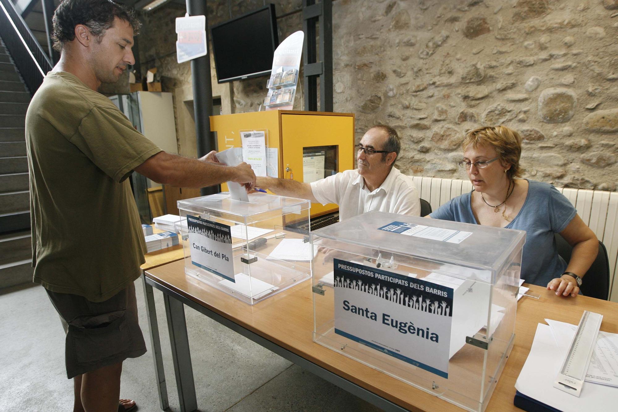 Els pressupostos participats tornaran a Girona l'any que ve
