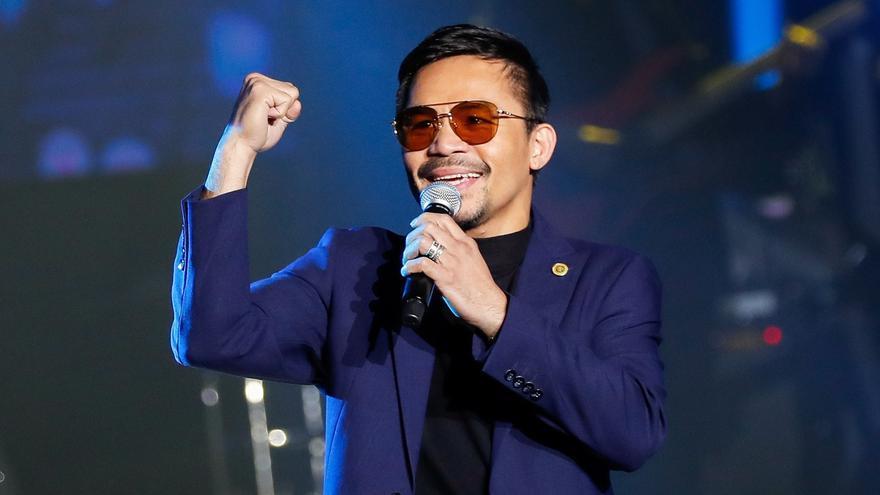 El boxeador Manny Pacquiao se presentará a las elecciones a la presidencia de Filipinas