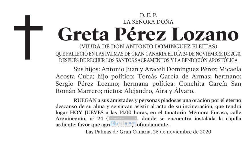 Greta Pérez Lozano