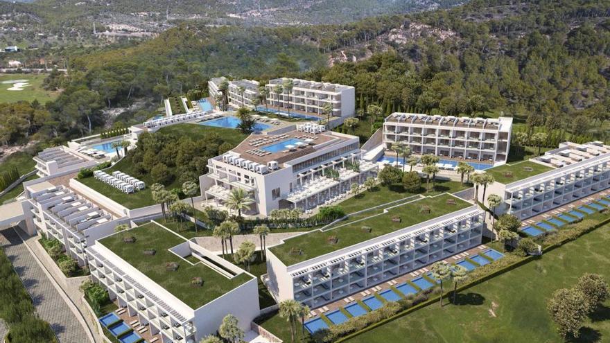 Zafiro öffnet 2020 ein Fünf-Sterne-Hotel im Südwesten von Mallorca