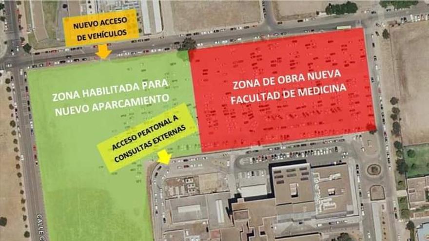 La obra de la nueva Facultad de Medicina en Badajoz empieza la próxima semana