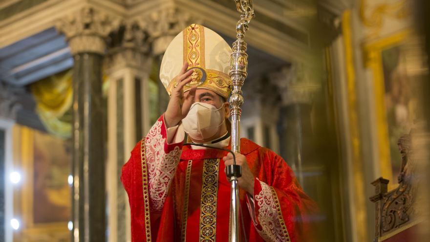 La Catedral de Málaga acoge la eucaristía por el 25 aniversario de Catalá como obispo