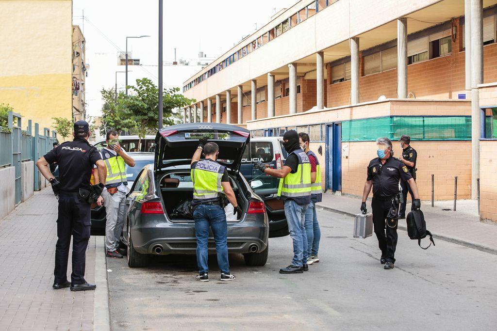 Intervención policial. Menudeo, gallos y tortugas en Ministriles, Lorca-3656.jpg