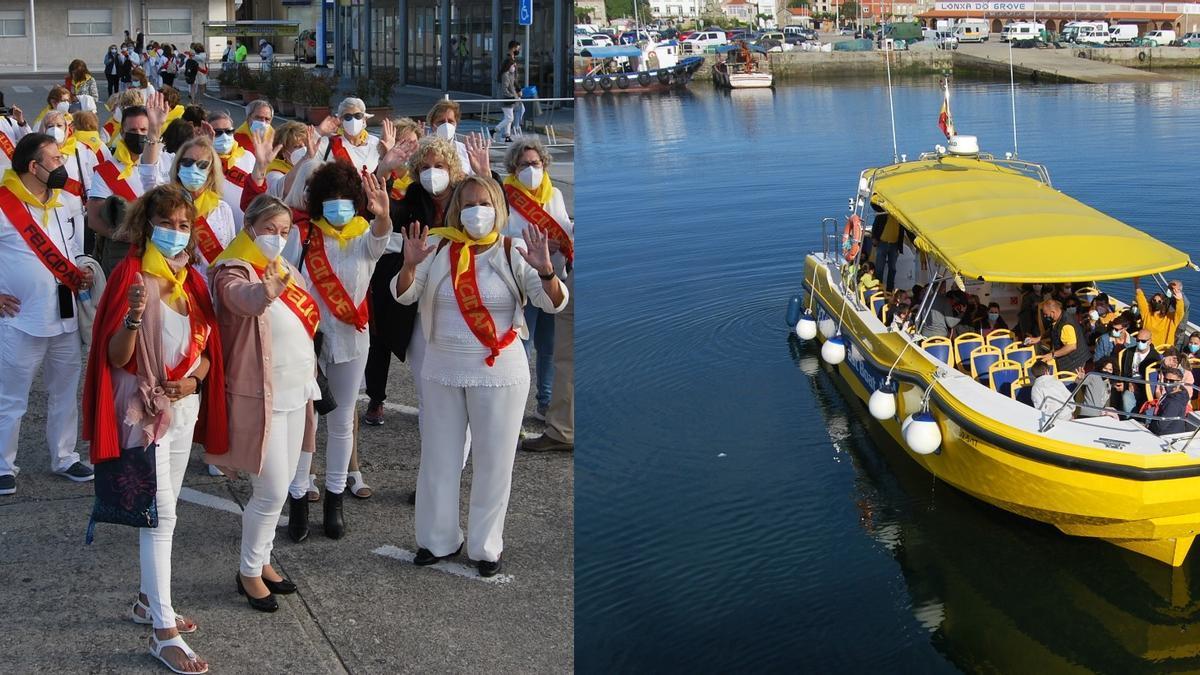 Los visitantes quieren divertirse en los catamaranes y botes rápidos.