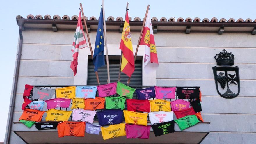 Las peñas de Villaralbo, preparadas para las fiestas de 2021