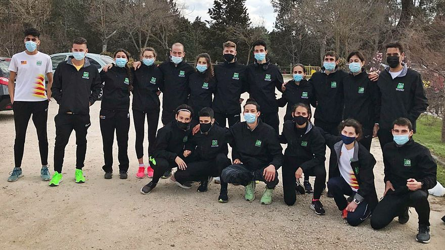 Discreto papel  de los atletas de Balears en el Nacional de cross