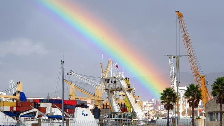 Las Rías Baixas se levantarán mañana en alerta amarilla por fuertes vientos