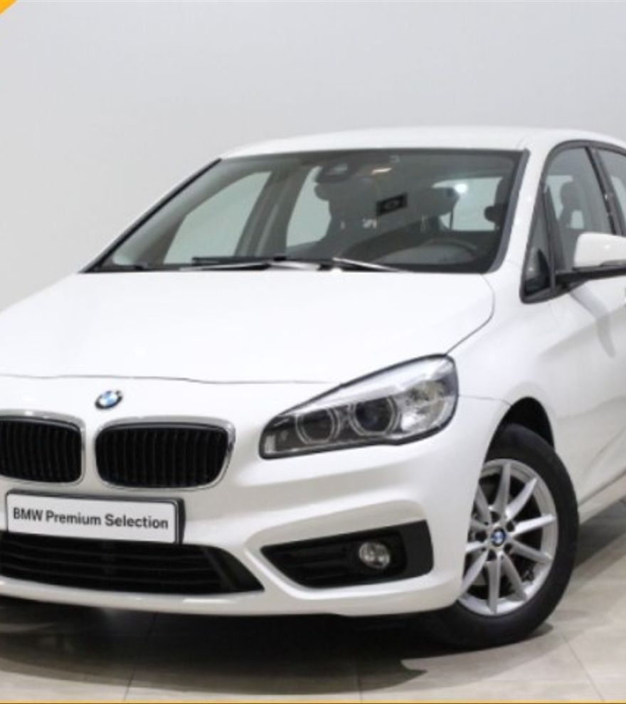 BMW Serie 2 Active Tourer 216d Diésel Automático 2015 Blanco por 16.200€