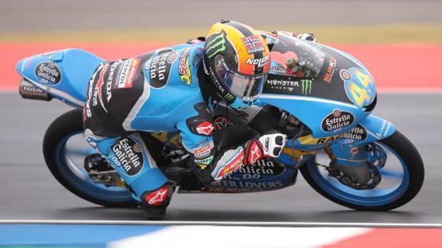 El valenciano Aarón Canet es el más rápido en Assen