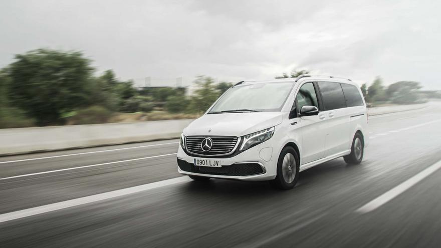 Mercedes-Benz EQV;  conoce el monovolumen eléctrico alemán en una súper galería