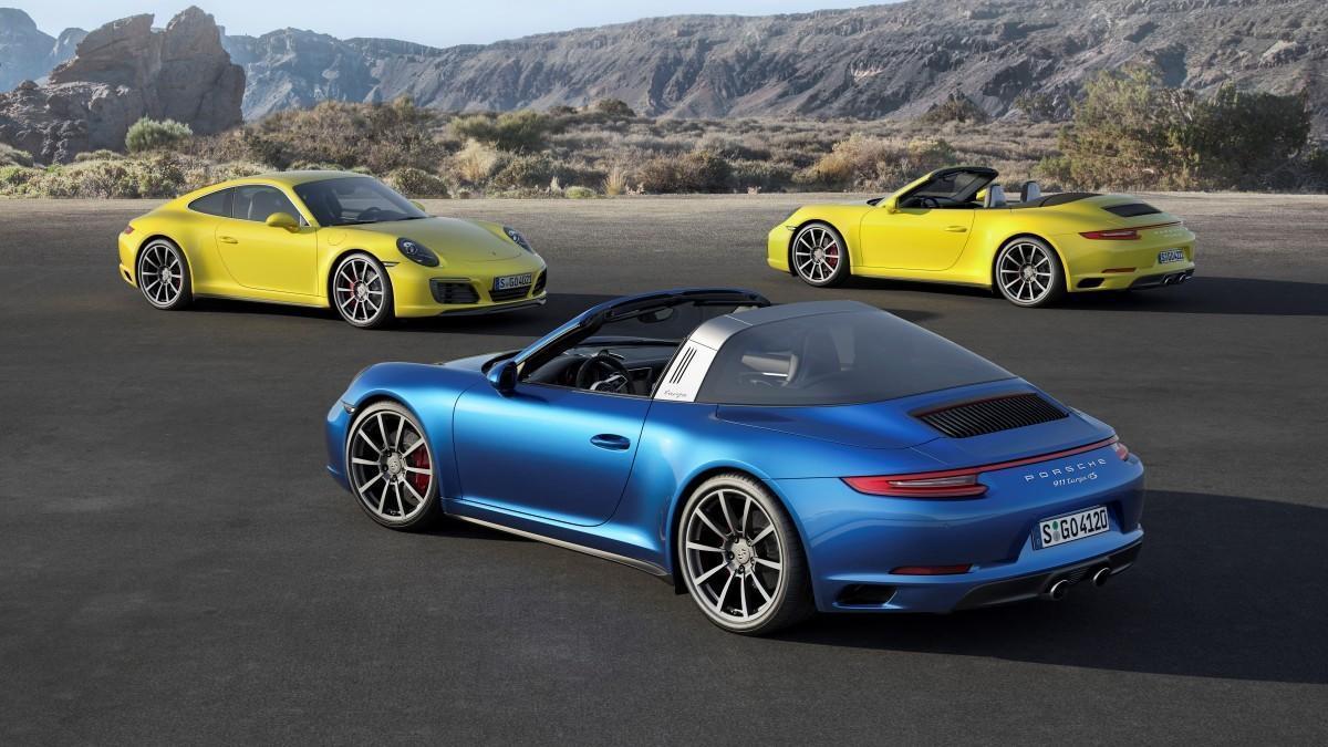 La evolución del Porsche 911 Targa en imágenes