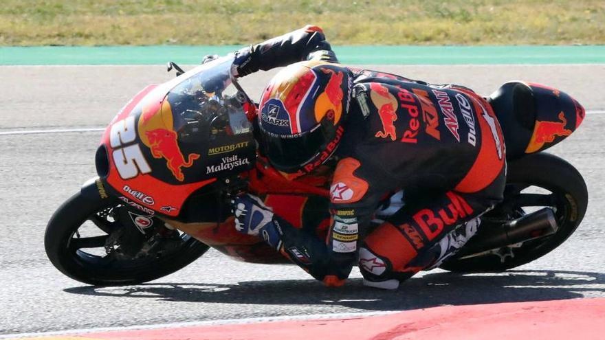 Cuarta 'pole' para Raúl Fernández en Moto3