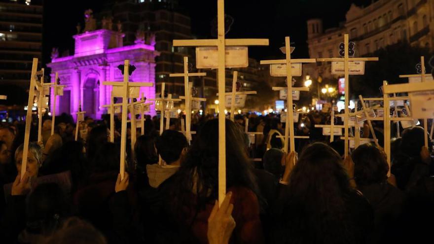 Manifestaciones en toda España contra la violencia machista