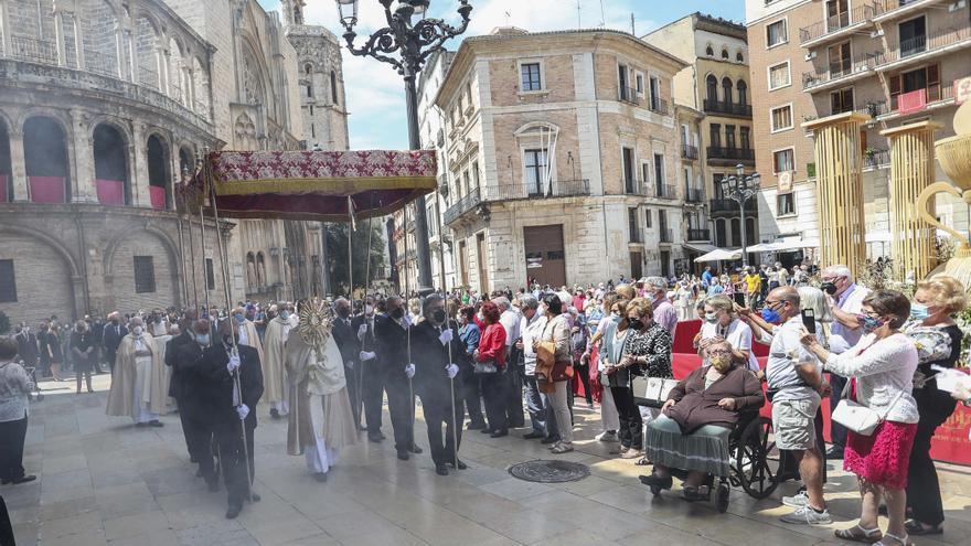 Restricciones y devoción en la fiesta del Corpus