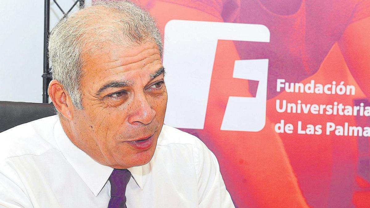 Carlos Estévez, presidente de la Fundación Universitaria