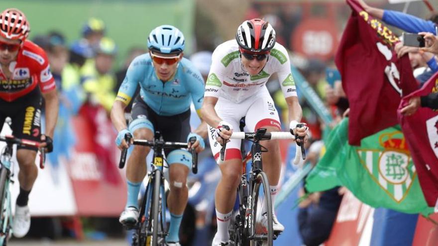 Clasificación de la etapa 16 y general de la Vuelta a España 2019