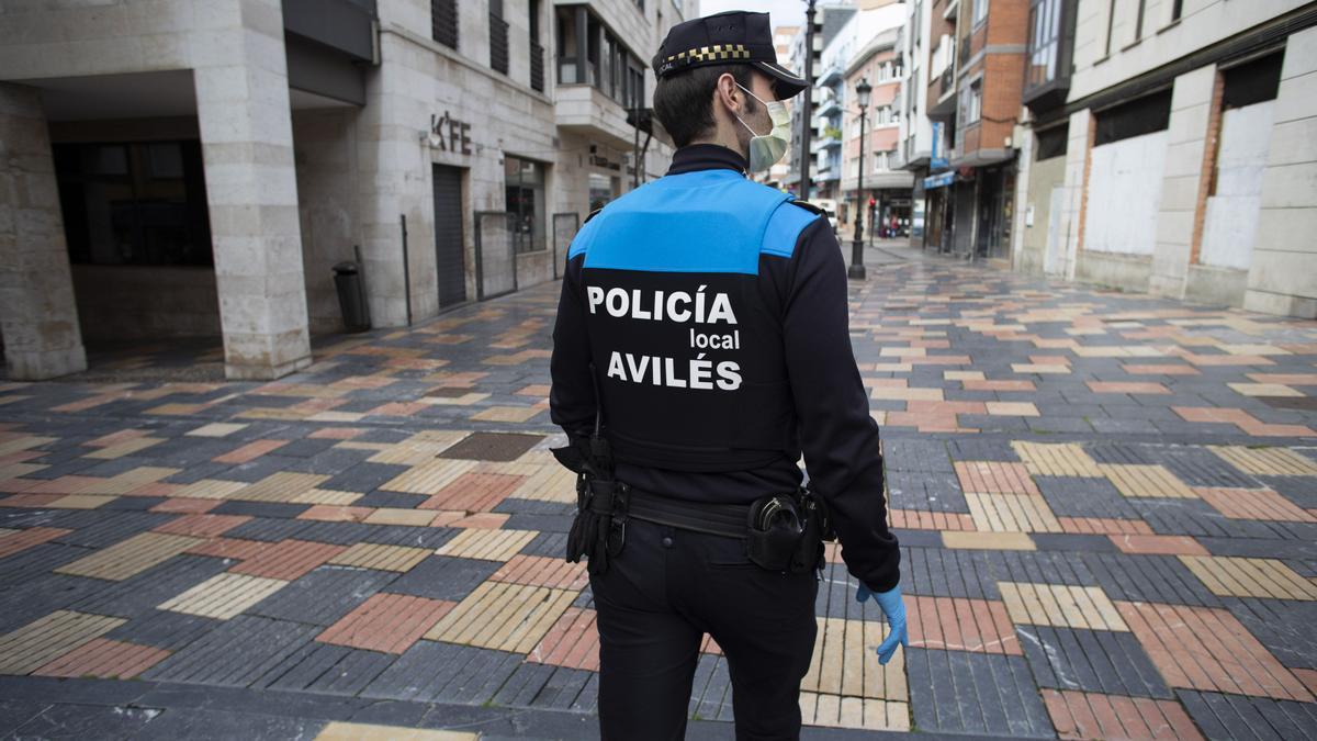 Policía Local en Avilés