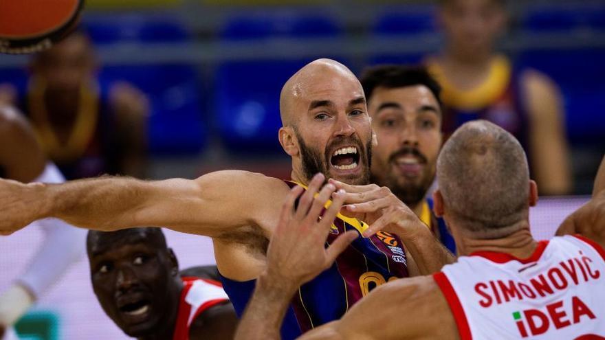 El Barcelona ahoga al Estrella Roja con su mejor versión