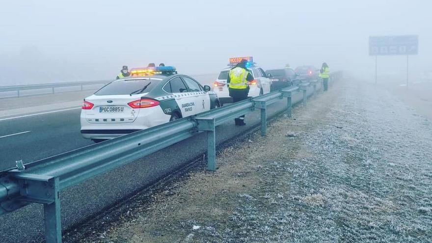 Cencellada en Zamora: Reabierta al tráfico la A-66, entre Morales y Corrales